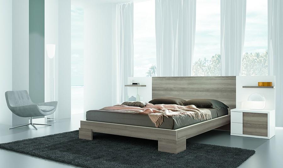 Cabecero cama matrimonio dormitorio de matrimonio con for Muebles rey bilbao
