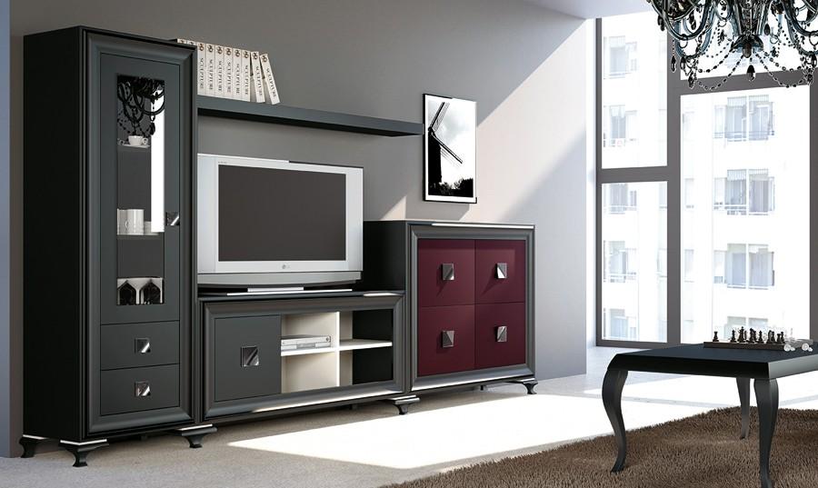 Muebles para salones modernos mueble de saln para tv for Muebles rey salones