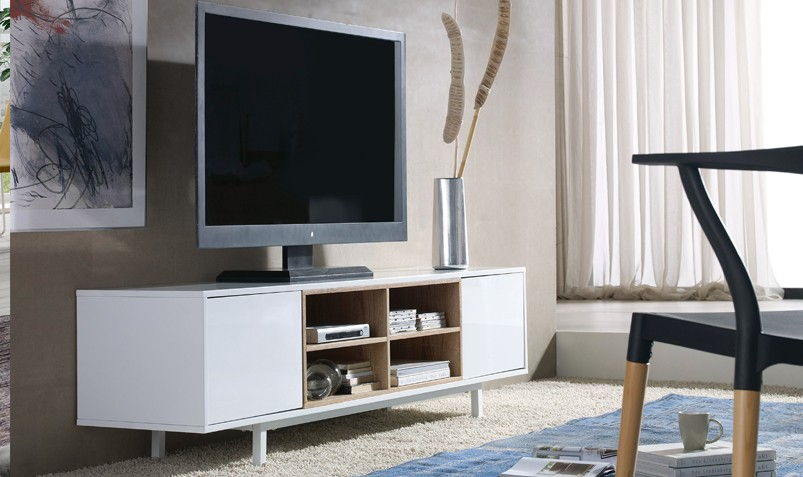 Muebles de tv for Muebles de sala para tv modernos