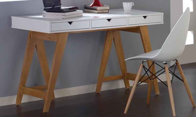 escritorio tres cajones mood