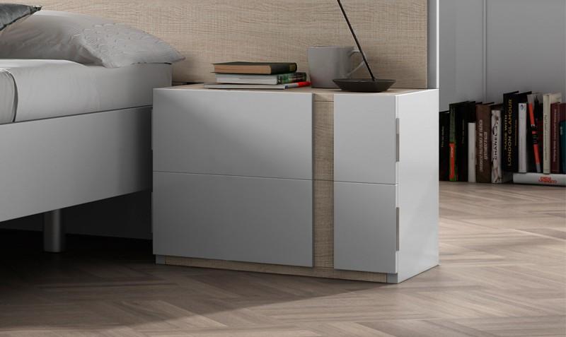 Comodas dormitorio modernas respaldo de sommier comoda dormitorio mesas de luz cmodas de - Mesilla de noche moderna ...