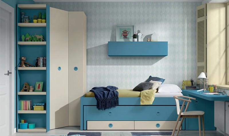 estantera para armario juvenil alvin