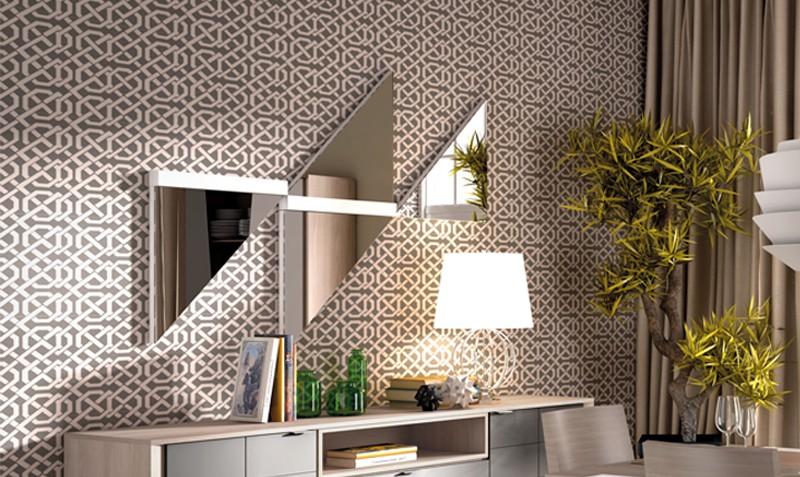 Espejos decorativos modernos espejos decorativos modernos for Espejo horizontal salon