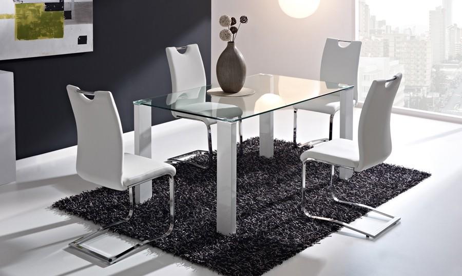 Mesa comedor madera 180 - Sillas muebles ...