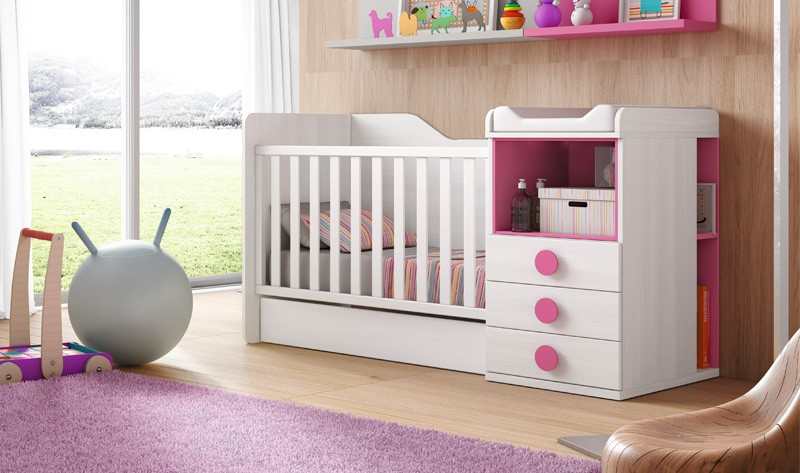 Bonito Basset Muebles De La Cuna Del Bebé Componente - Muebles Para ...