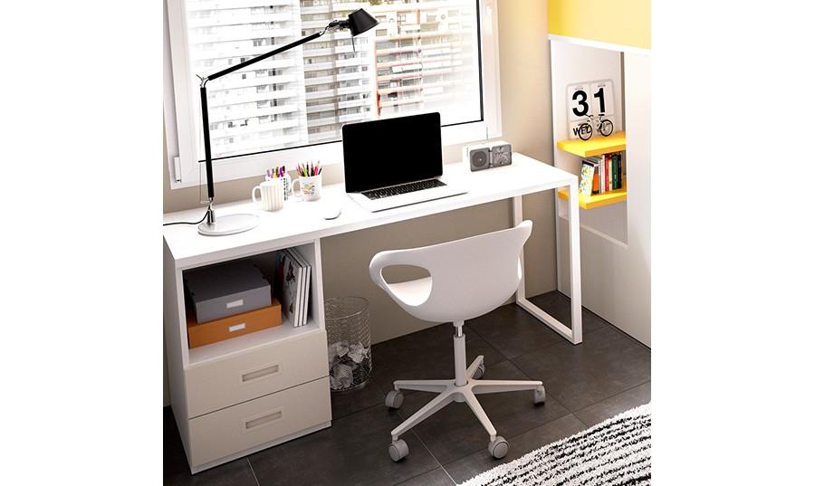 escritorio con cajonera manchester