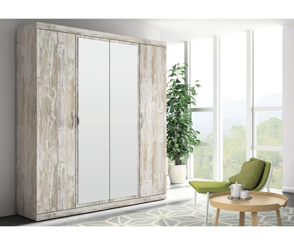 Altillos para armarios trendy armario ropero color blanco - Decorar puertas de armario ...