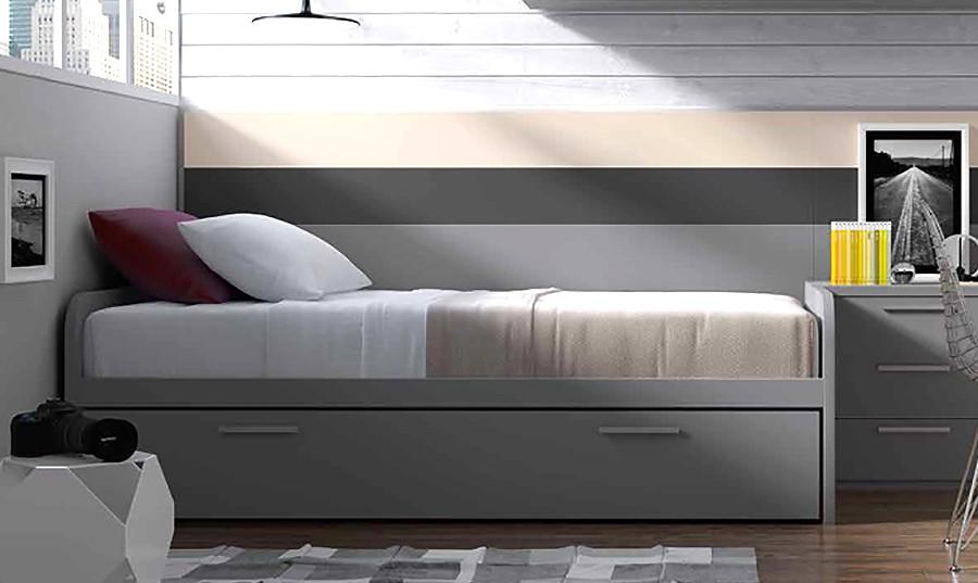 cama nido para dormitorio juvenil newport comprar camas nido en muebles rey
