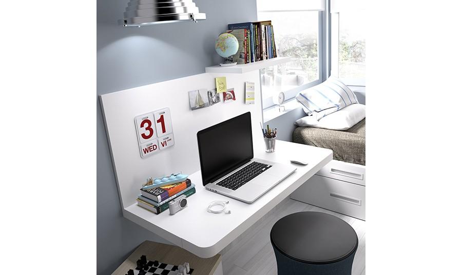 escritorio con cajonera birmingham