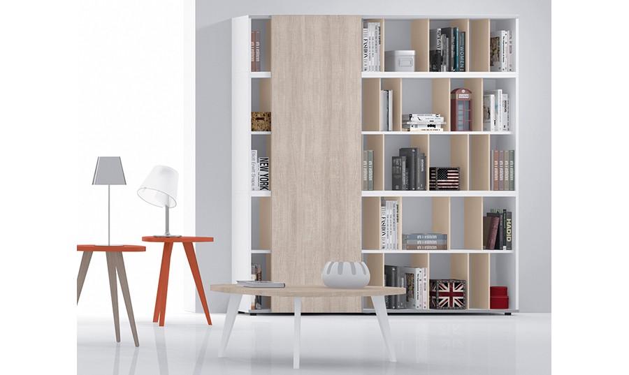 mueble de saln con puertas librera crcega comprar libreras en muebles rey