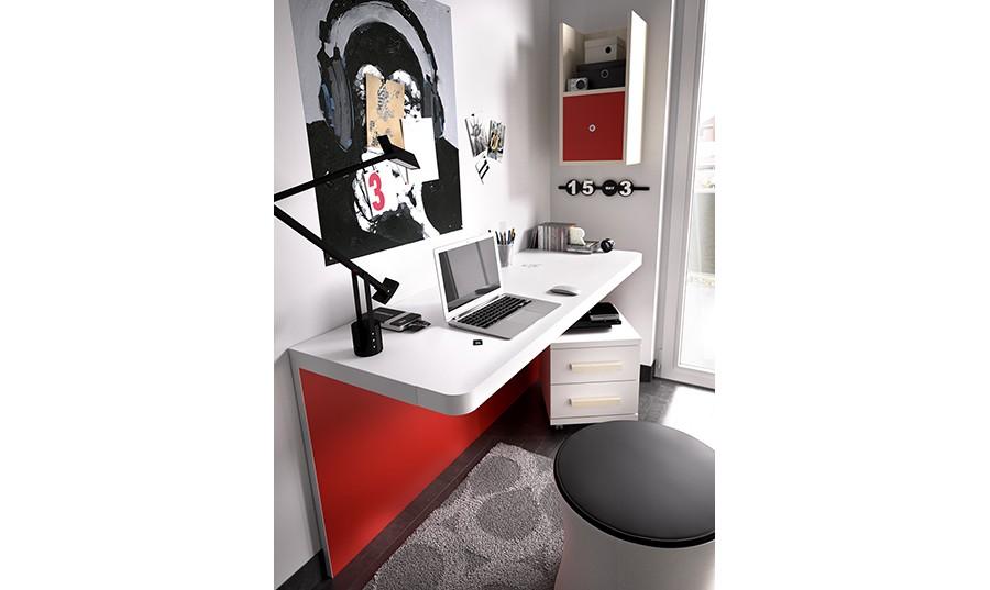 Escritorio para habitacion juvenil mesa de ordenador - Escritorio para habitacion ...