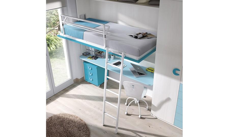 Camas abatibles baratas - Habitaciones juveniles camas abatibles horizontales ...