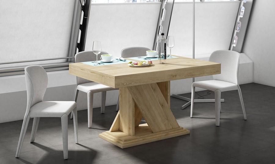 mesa de comedor extensible vics comprar mesas de comedor en muebles rey