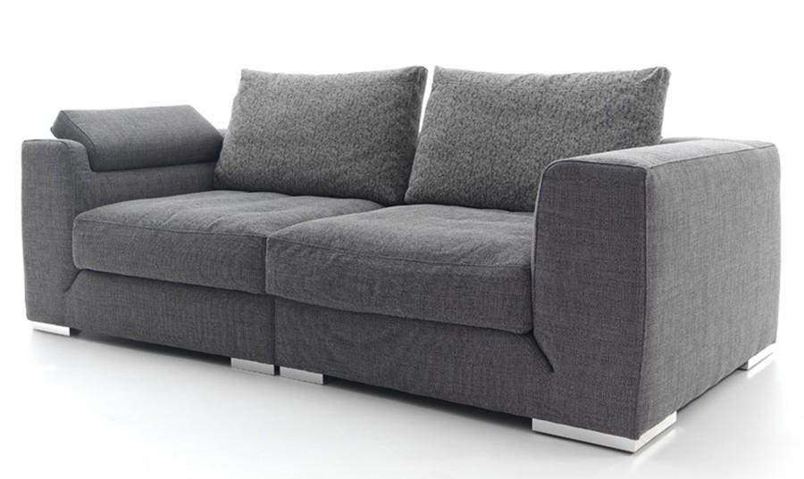 Sofa 3 plazas gris idea de la imagen de inicio for Sofa abel 3 cuerpos tela taupe