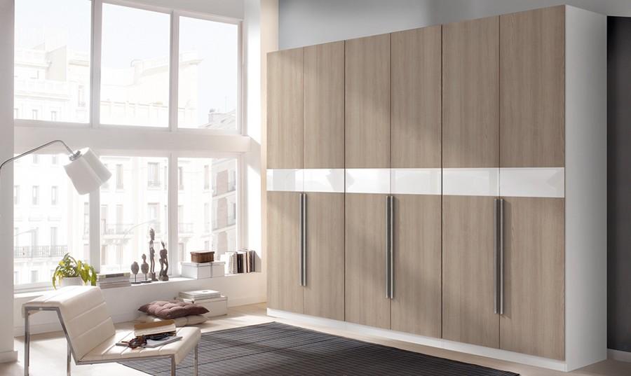 Sala y comedor rectangular for Armarios dormitorio baratos