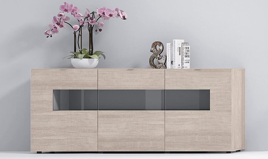 Muebles aparadores modernos awesome mueble acabado en - Aparador para salon ...