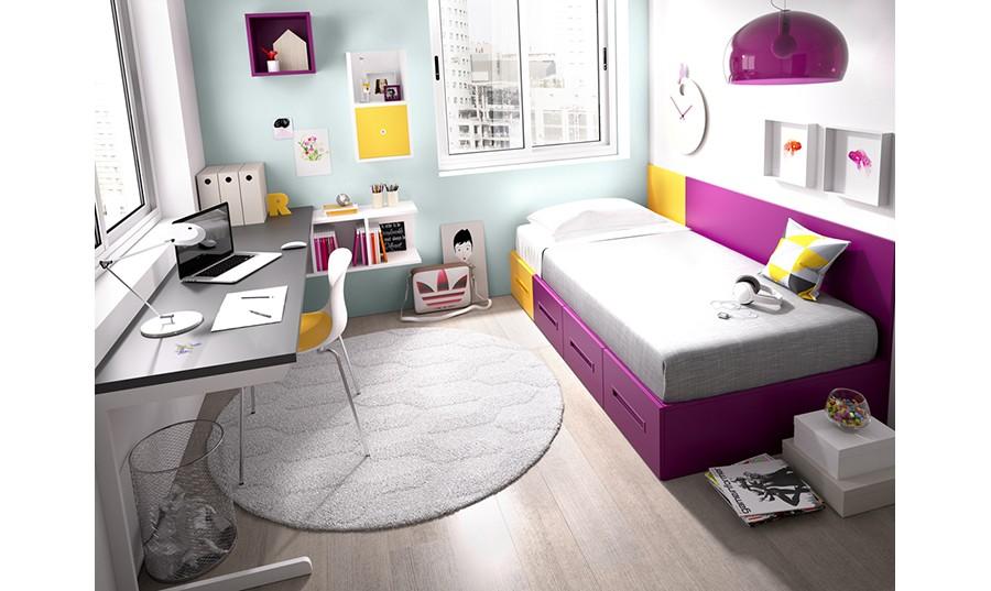 conjunto dormitorio juvenil leeds