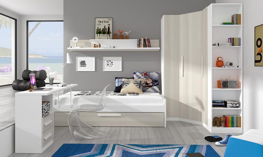 armario esquinero para dormitorio juvenil canterbury comprar armarios juveniles en muebles rey