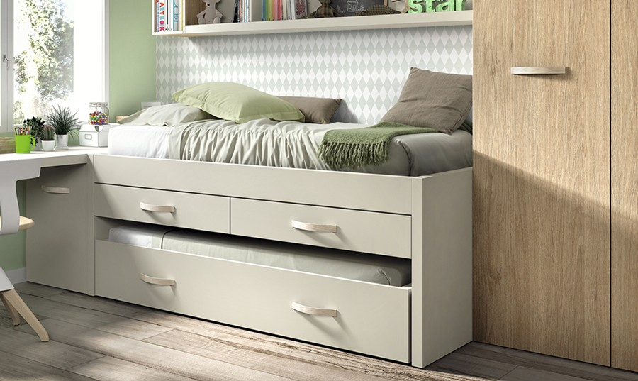 Dormitorio juvenil para dos simple dormitorios juveniles for Cama nido dormitorio juvenil