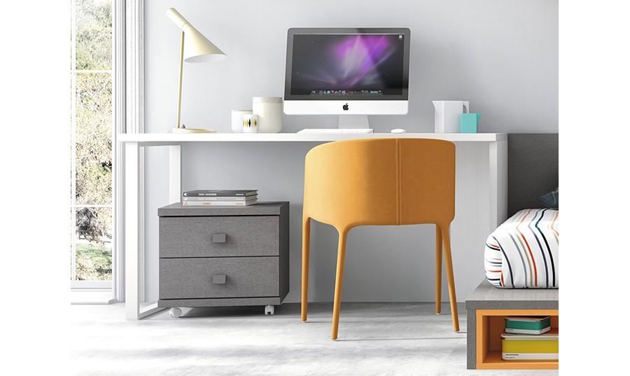 escritorio juvevil con cajonera tokio
